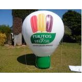 balão promocional em Paulínia