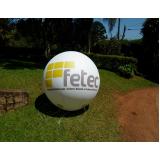 balões infláveis de propaganda para eventos no Sacomã