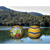 bola inflável gigante transparente na Paraíba - PB - João Pessoa