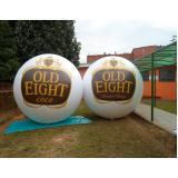 bola inflável sp para propaganda na Cidade Patriarca