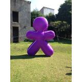 boneco inflável promocional preço em Porto Velho