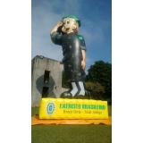 boneco inflável promocional em Aracaju