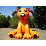 comprar mascote inflável para eventos em Jaçanã