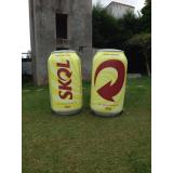 empresa de inflável promocional para empresa no Campo Belo