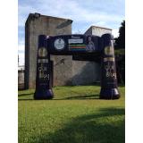 empresa de inflável promocional para propaganda na Cidade Jardim