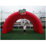 empresa de túnel inflável para festa empresarial em Moema