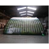 fábrica de túnel inflável no Centro