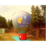 fabricante de balão promocional inflável em Sapopemba