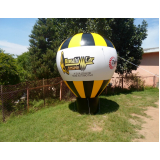 fabricante de balões infláveis de propaganda em Água Rasa