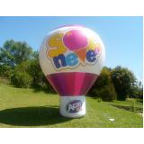 fabricante de balões infláveis para eventos em Embu Guaçú