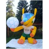 fabricante de mascote inflável a venda em Glicério