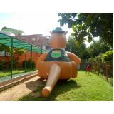 fabricante de mascote inflável no Jardim América