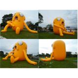 fabricante de mascote joão bobo inflável em Jandira
