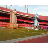 fabricante de mascotes infláveis personalizados em São Caetano do Sul