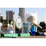 fabricante de mascotes infláveis preço no Parque do Carmo