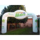 fabricante de portais infláveis para eventos em Mogi das Cruzes