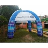 fabricante de stand inflável para show no Parque São Rafael