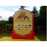 fabricante de totem inflável no Morumbi