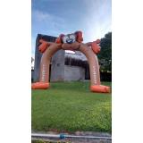 infláveis promocionais para projeções no Jardim Ângela