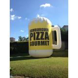 inflável promocional para divulgação de marca preço em Ribeirão Preto
