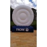inflável promocional para eventos preço em Mairiporã