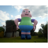 mascote inflável preco em São Domingos