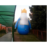 mascotes big inflável para eventos no Jaguaré