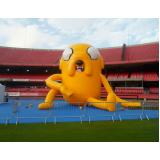 mascotes infláveis personalizados para eventos em Itapecerica da Serra