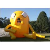 mascotes infláveis preço para propaganda no Jardim Ângela