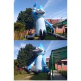 mascotes infláveis promocionais para eventos no Parque São Rafael