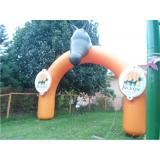 pórticos infláveis promocionais para eventos em Santana de Parnaíba
