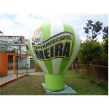 preço ação promocional com balão em Carapicuíba