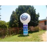 preço balões infláveis de propaganda na Aclimação