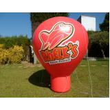 preço balões infláveis promocionais em Araras