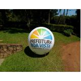 preço bola inflável gigante transparente no Jaguaré
