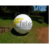 preço bola inflável gigante em Guararema