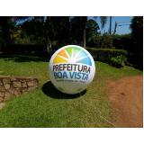 preço bola inflável promocional em Marília