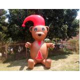 preço bonecos infláveis de natal no Jardim América