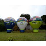preço fábrica de balões roof top na Bela Vista
