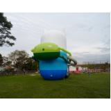 preço fábrica de mascotes infláveis em Sapopemba