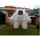 preço inflável gigante em Bauru