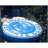preço logomarca inflável na Água Funda