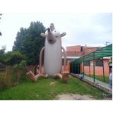 preço mascotes big inflável em São Mateus