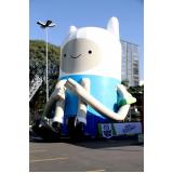 preço mascotes infláveis de posto de gasolina em Santa Isabel