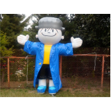 preço mascotes infláveis promocionais no Pari