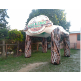 preço tendas infláveis para eventos em Aricanduva