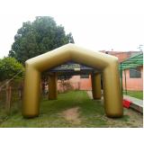 preço venda de tenda inflável em Aricanduva