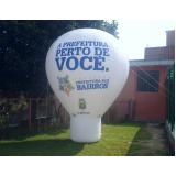 roof top inflável para propaganda em Pinheiros