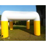 stand inflável gigante para eventos em Cajamar