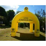 stand inflável para eventos coporaticos no Campo Belo